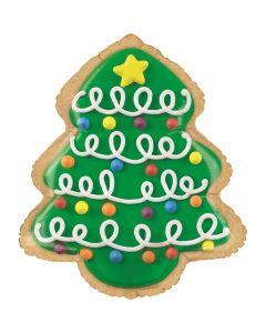 Christmas Tree Cookie 25in/64cm