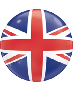 Union Jack Single Bubble 22in/55cm