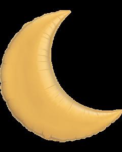 Metallic Gold Foil Mond 35in/87.5cm