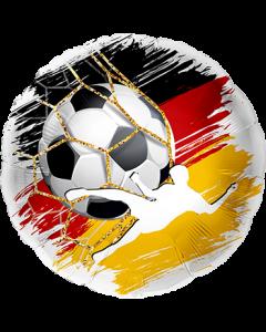 Fußball Deutschland Folienform Rund 17in/43cm