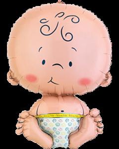 Welcome Baby Folienfiguren 16in/41cm x 24in/61cm