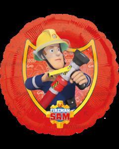 Fireman Sam Folienform Rund 18in/45cm