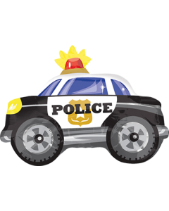 Police Car Folienfiguren 20in/50cm