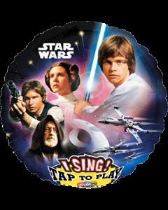 Star Wars Sing A Tune Folienform Rund 28in/71cm