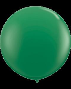 Standard Green Latexballon Rund 36in/90cm
