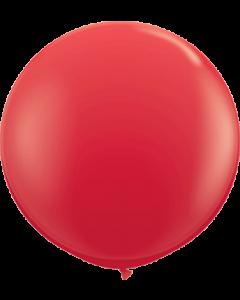 Standard Red Latexballon Rund 36in/90cm