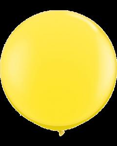 Standard Yellow Latexballon Rund 36in/90cm