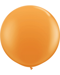 Standard Orange Latexballon Rund 36in/90cm