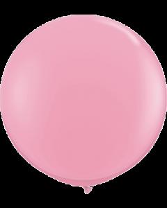 Standard Pink Latexballon Rund 36in/90cm