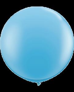 Standard Pale Blue Latexballon Rund 36in/90cm