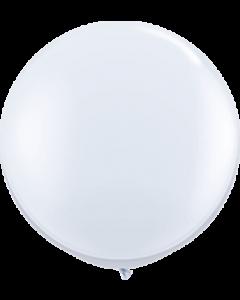 Standard White Latexballon Rund 36in/90cm