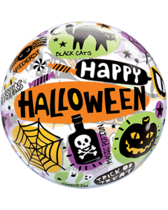 Halloween Messages und Icons Single Bubble 22in/55cm
