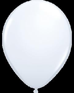Standard White Latexballon Rund 11in/27.5cm
