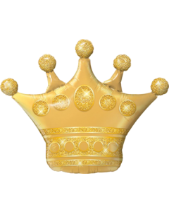 Golden Crown Folienfiguren 41in/104cm
