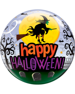 Halloween Witch Haunting Single Bubble 22in/55cm