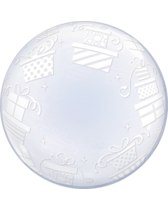 Deco Bubble Wrapped Presents 24in/60cm