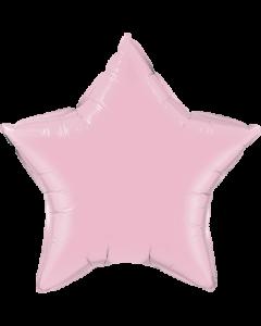 Pearl Pink Folienform Stern 9in/22.5cm