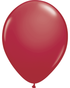 Fashion Maroon Latexballon Rund 16in/40cm