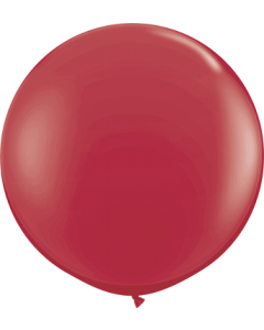 Fashion Maroon Latexballon Rund 36in/90cm
