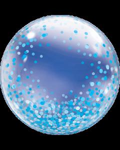Deco Bubble Blue Confetti Dots 24in/60cm