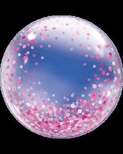 Deco Bubble Pink Confetti Dots 24in/60cm
