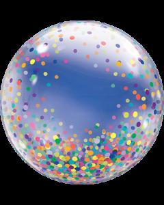 Deco Bubble Colourful Confetti Dots 24in/60cm