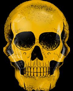 Golden Skull Folienfiguren 36in/91cm