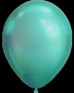 Chrome Green Latexballon Rund 11in/27.5cm