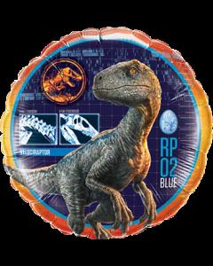 Jurassic World Folienform Rund 18in/45cm