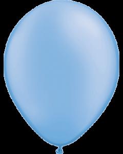 Neon Blue Latexballon Rund 11in/27.5cm