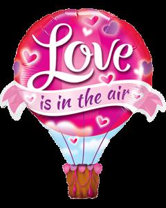 Love Is In The Air Balloon Folienfiguren 42in/107cm