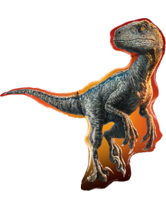 Jurassic World: Raptor Folienfiguren 38in/97cm