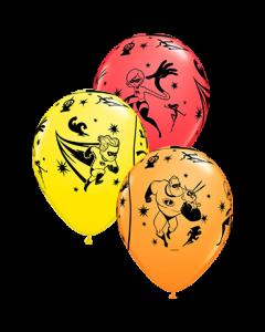 Incredibles 2 Standard Red, Standard Yellow und Standard Orange Sortiment Latexballon Rund 11in/27.5cm