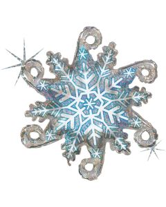Linky Snowflake Holographic 38in/97cm
