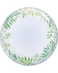 Deco Bubble Elegant Greenery 24in/60cm