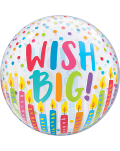 Wish Big! Single Bubble 22in/55cm