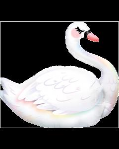 Graceful Swan Folienfiguren 35in/88cm