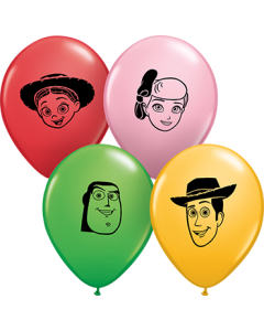 Disney Pixar's Toy Story 4 Faces Special Sortiment Latexballon Rund 5in/12.5cm