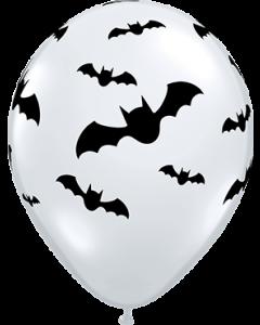 Bats Diamond Clear Latexballon Rund 11in/27.5cm