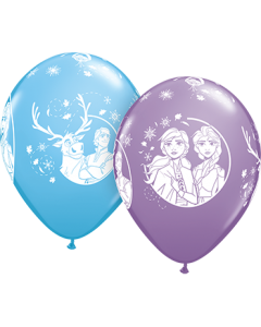 Disney Frozen II Special Sortiment Latexballon Rund 11in/27.5cm