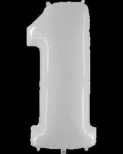 1 White Fluo Folienzahlen 40in/100cm