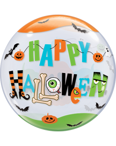 Halloween Fun Font Single Bubble 22in/55cm