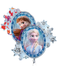 Frozen II Mini Folienfiguren 10in/25cm
