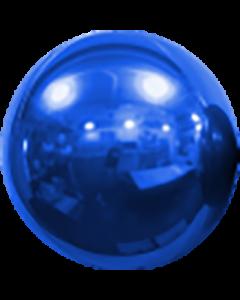 Mirror Ball Foil Blue 16in/40cm