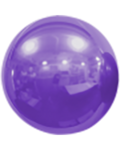 Mirror Ball Foil Lilac 16in/40cm