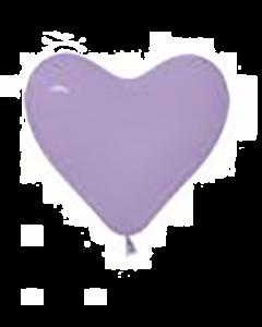 Fashion Lilac Latexherzen 6in/15cm