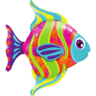 Fashionable Fish Folienfiguren 43in/107.5cm