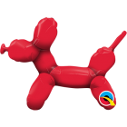 Balloon Dog Red Folienfigur 14in/36cm