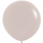 Fashion White Sand Latexballon Rund 24in/60cm